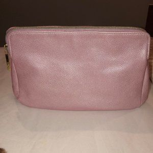 Lancome Pink Frost Cosmetic Bag Makeup Toiletries